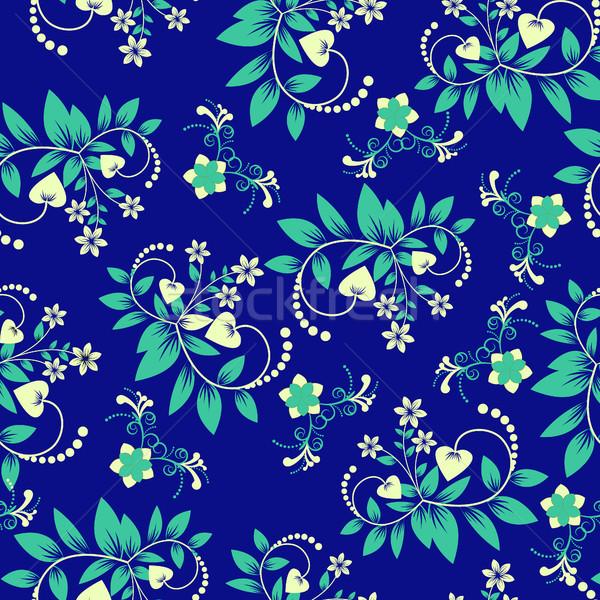 цветочный Swirl можете используемый Сток-фото © Margolana