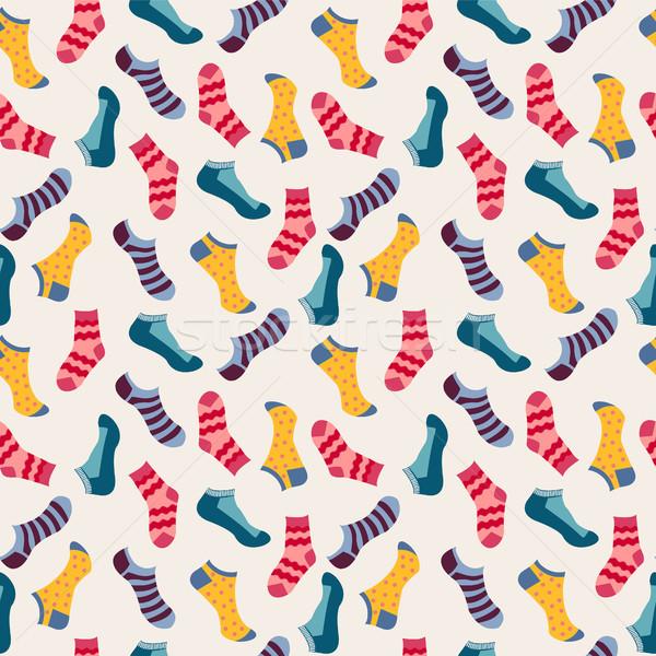 моде носки вектора различный Сток-фото © Margolana