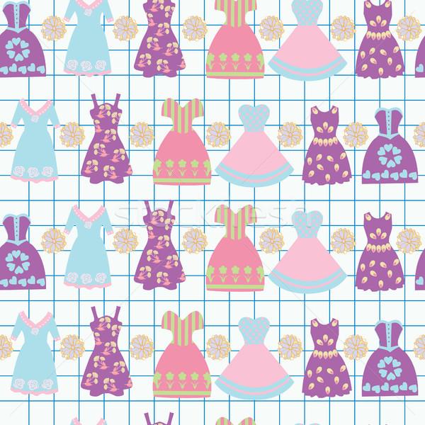 4343ecfab Feminino · roupa · moda · vestidos · gráfico - ilustração de vetor ...