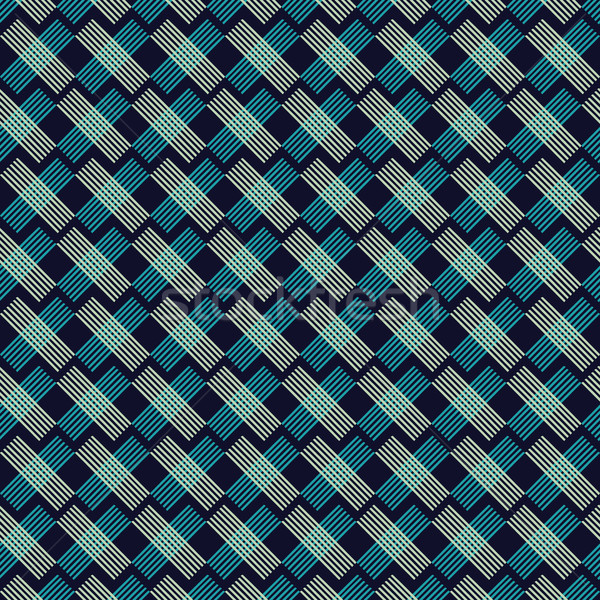 Abstract stylish hand drawn strokes pattern. Stock photo © Margolana