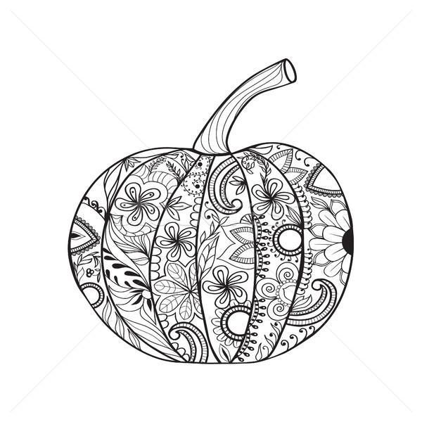 Calabaza acción de gracias día halloween vector página Foto stock © Margolana