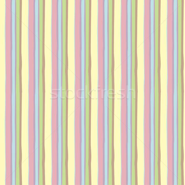 Kolorowy cartoon geometryczny wzór Zdjęcia stock © Margolana