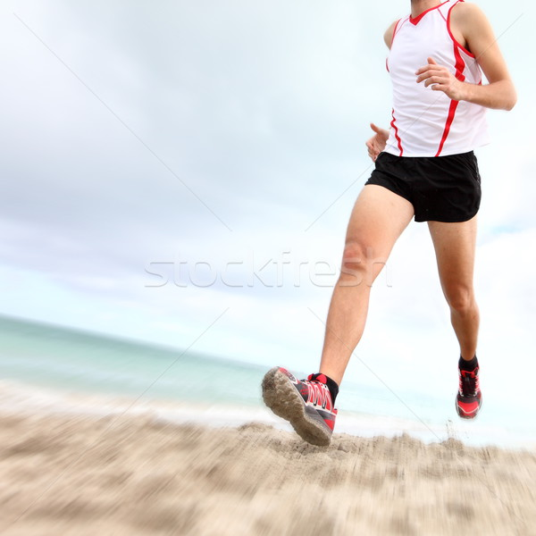 Running legs and shoes Stock photo © Maridav