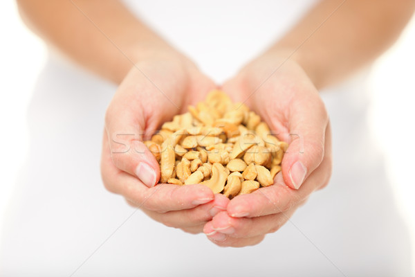 орех кешью орехи женщину Сток-фото © Maridav