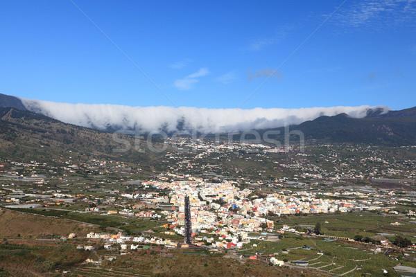 LA Kanári-szigetek fotó ritka híres felhő Stock fotó © Maridav