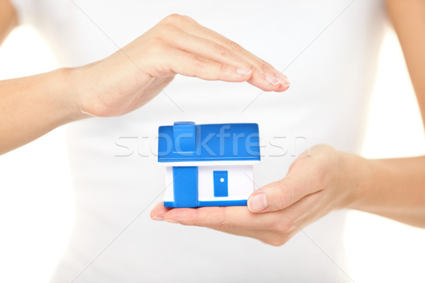 Home insurance and protection Stock photo © Maridav