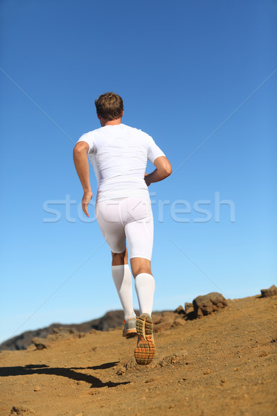 Stock photo: Runner in nature