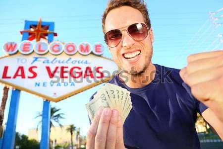 Лас-Вегас приветствую невероятный знак Сток-фото © Maridav