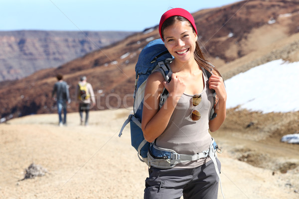 Hiker portrait Stock photo © Maridav