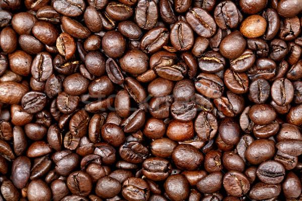 Grains de caf texture fra ches sac photo - Sac de cafe en grain ...