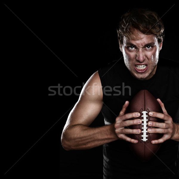 American football player Stock photo © Maridav
