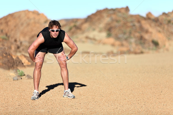 Stock photo: Workout outdoor runner