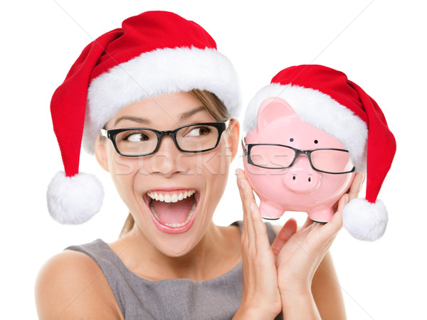 Christmas glasses eyewear sale concept Stock photo © Maridav