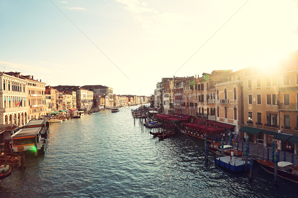 Grand Canal, Venice, Italy - Canal Grande Stock photo © Maridav