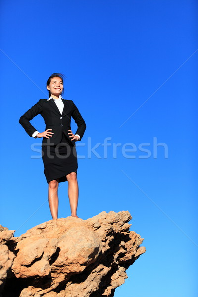 Success and challenges - business concept Stock photo © Maridav