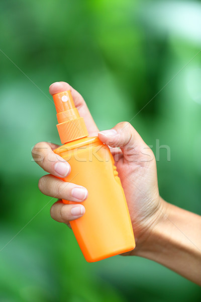 Stock photo: Mosquito repellent - insect repellents