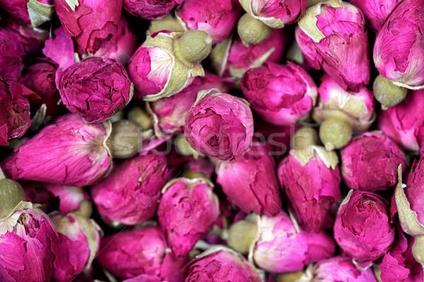 Stok fotoğraf: Gül · çay · kurutulmuş · çiçekler · doku