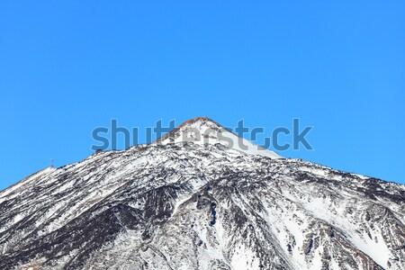Mountain top of Volcano Teide, Tenerife Stock photo © Maridav
