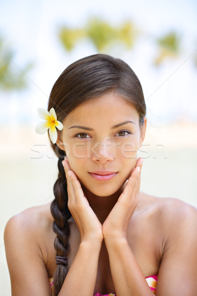 Spa woman wellness beauty woman portrait Stock photo © Maridav