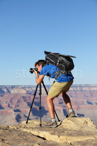 Természet tájkép fotós Grand Canyon elvesz kép Stock fotó © Maridav