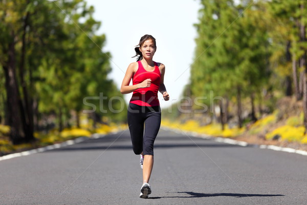 Stock photo: Sport fitness running woman