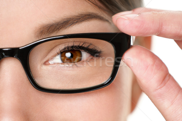 Glasses eyewear closeup Stock photo © Maridav