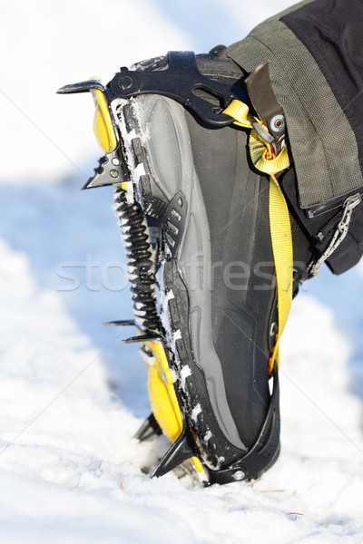 Crampons closeup Stock photo © Maridav
