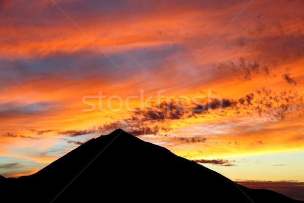 нет описание облака природы пейзаж лет Сток-фото © Maridav
