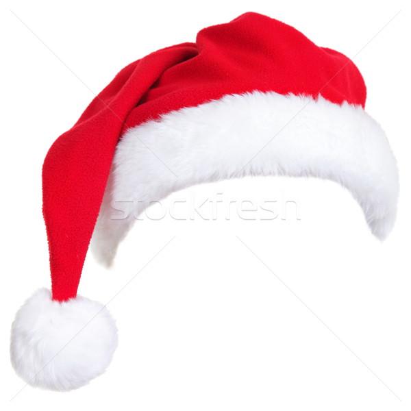 Christmas santa hat Stock photo © Maridav