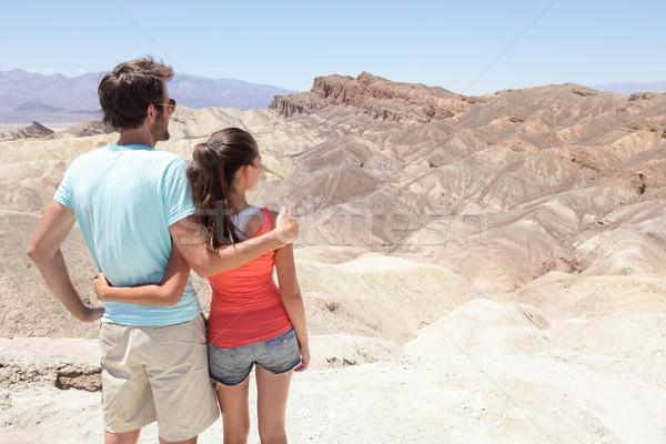 Stockfoto: Dood · vallei · toeristen · Californië · genieten
