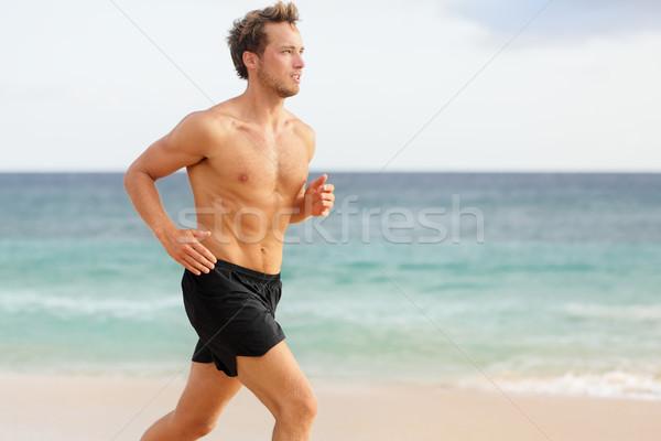 Sport man running stock photo © Maridav (#2861056 ...