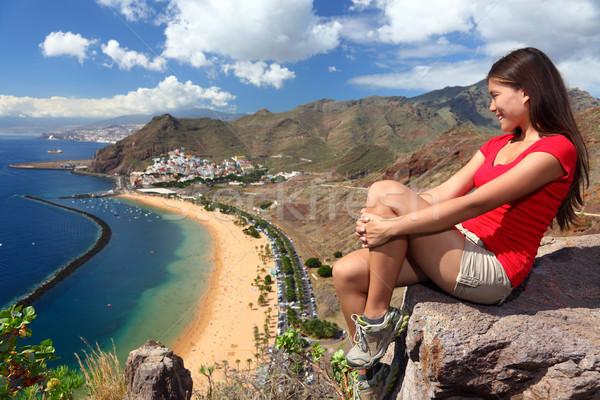 Tenerife Traveler Stock photo © Maridav