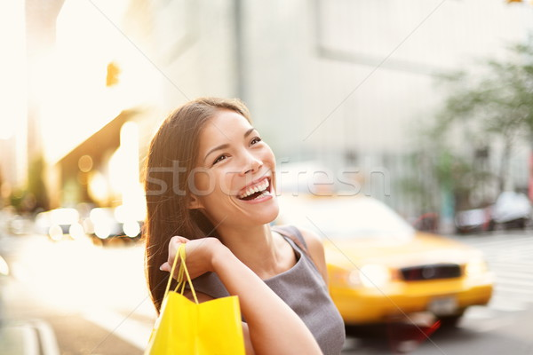 Shopper woman in New York City Stock photo © Maridav