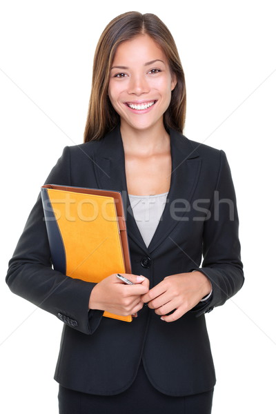 Real estate agent business woman portrait Stock photo © Maridav