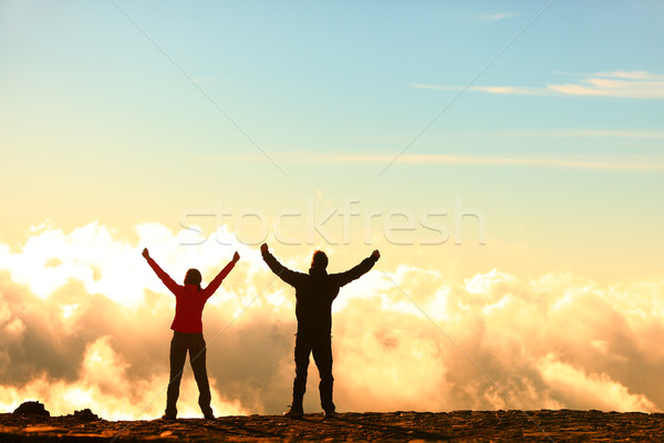 Success, achievement and accomplishment concept Stock photo © Maridav