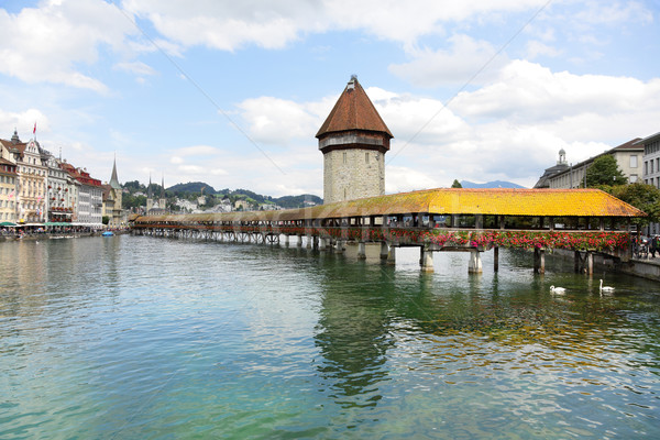 Lucerne Switzerland Stock photo © Maridav