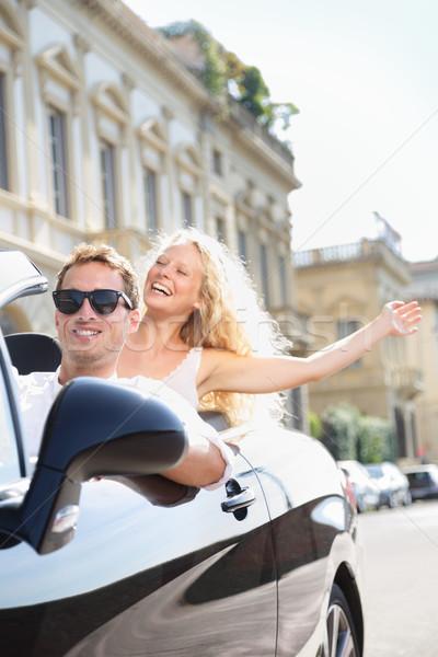 Zdjęcia stock: Samochody · ludzi · jazdy · samochodu · mężczyzna · kierowcy