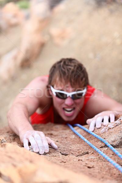 Man climbing Stock photo © Maridav