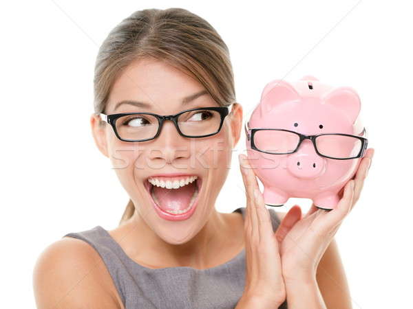 Stock photo: Save money on glasses eyewear