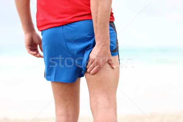 Running sports injury Stock photo © Maridav