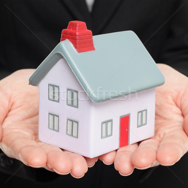 Mini model house and home Stock photo © Maridav