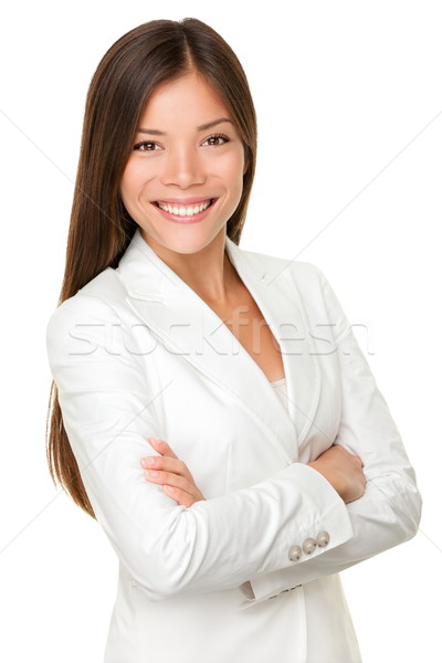 Asian business woman Stock photo © Maridav