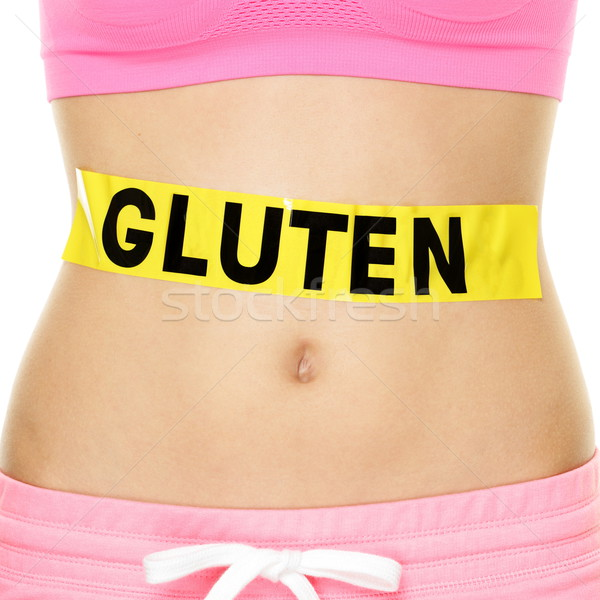 Gluten allergy, health and Celiac disease concept Stock photo © Maridav
