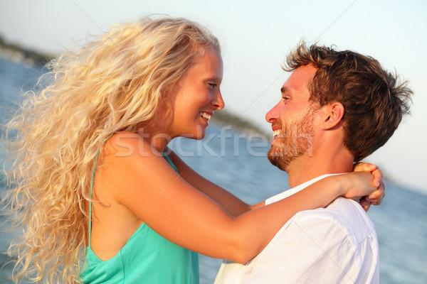 Passion amoureux couple amour passionné Photo stock © Maridav
