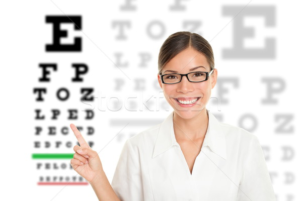 Optician / Optometrist Stock photo © Maridav