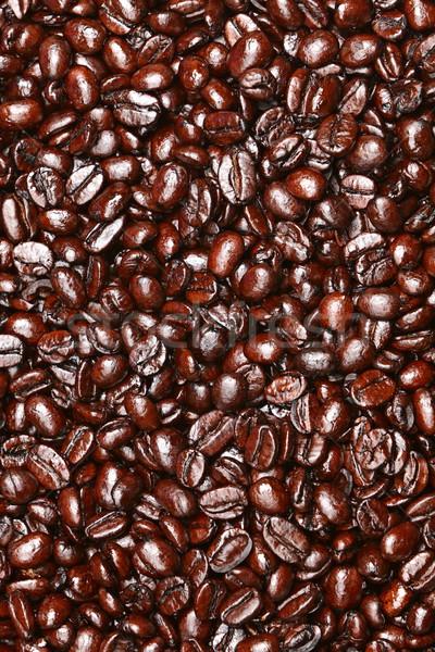 Coffee beans texture Stock photo © Maridav