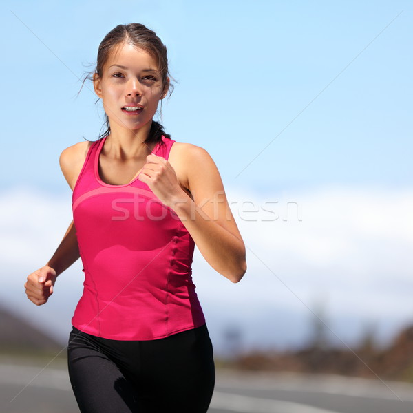 runner - woman running Stock photo © Maridav