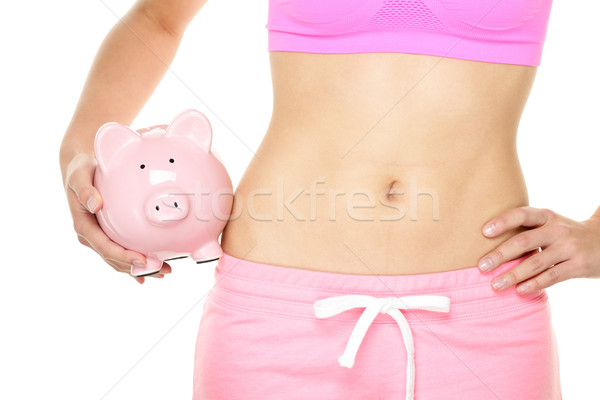 Healthy fitness lifestyle is expensive Stock photo © Maridav