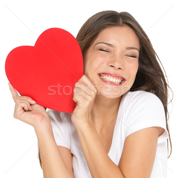 Love and valentines day woman Stock photo © Maridav
