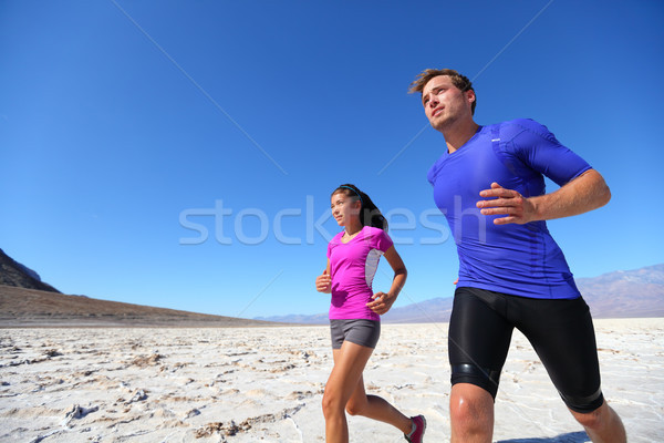 Corrida fitness esportes extremo correr Foto stock © Maridav